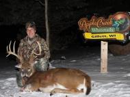 Harvested, Class 160-169, , deer hunt wisconsin, deer hunting wisconsin apple creek buck ranch, deer hunting outfitters